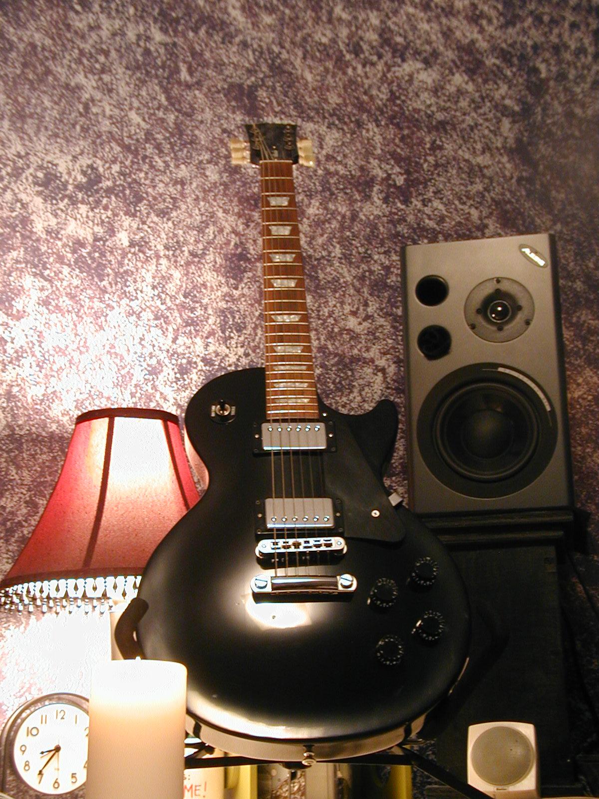 My Gibson Les Paul Studio Guitar